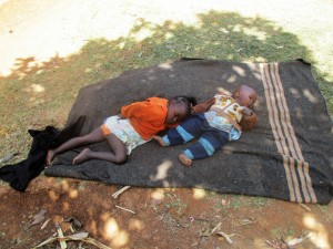 The Water Project:  Children Put Down For A Nap