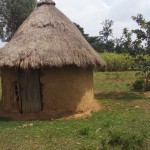 The Water Project: Shikoti Community A -  Traditional Hut For Head Of Household