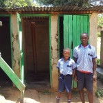 The Water Project: Chief Mutsembe Primary School -  Boys At Their Latrines