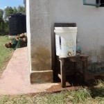 The Water Project: Ibinzo Girls Secondary School -  Hand Washing Station