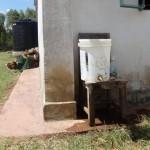 The Water Project: Ibinzo Girls Secondary School -  Hand Washing Station