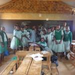 The Water Project: Emukangu Primary School -  Students In Class