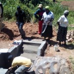 The Water Project: Bumavi Community, Shoso Mwoga Spring -  Artisan Explains The Spring