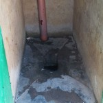 The Water Project: Chief Mutsembe Primary School -  Inside Latrine