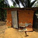 The Water Project: Benke Community, Turay Street -  Latrine