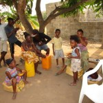 The Water Project: Benke Community, Brima Lane -  Daily Activities