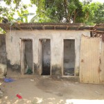 The Water Project: Conakry Dee Community A -  Latrine
