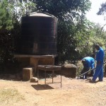 The Water Project: Bishop Sulumeti Girls Secondary School -  Broken Tank
