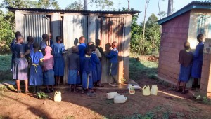 The Water Project:  Waiting For Latrines