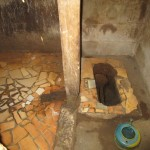 The Water Project: Kitonki Community -  Inside Latrine