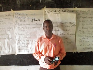 The Water Project:  Mr Moses Atieli Teacher In Charge Of Health Club