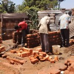 The Water Project: Matende Girls High School -  Latrine Construction