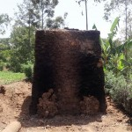 The Water Project: Shikoti Community, Amboka Spring -  Bricks Baking