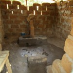 The Water Project: Benke Community, Turay Street -  Inside Latrine