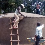 The Water Project: Bumira Secondary School -  Construction