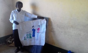 The Water Project : 14-kenya4692-mrs-agness-a-nursery-teacher