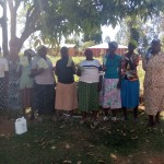 The Water Project: Bumavi Community, Shoso Mwoga Spring -  Participants