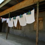 The Water Project: Tombo Bana Community -  Clothesline
