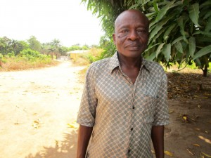 The Water Project:  Mr Alie Bangura