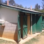 The Water Project: Bishop Sulumeti Girls Secondary School -  Latrines