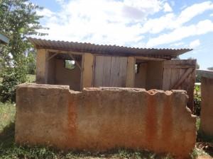 The Water Project : 15-kenya4677-latrines