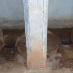 The Water Project: Iyenga Primary School -  Inside Latrine