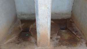 The Water Project:  Inside Latrine