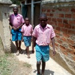 The Water Project: Maganyi Primary School -  Boys Latrines