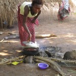 The Water Project: Kitonki Community, War Wounded Camp -  Community Activity