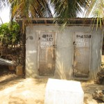 The Water Project: New London Community, Magburaka Road -  Latrine