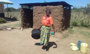 The Water Project : 16-kenya4692-cook-and-kitchen