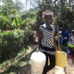 The Water Project: Shitungu Community -  Protected Spring