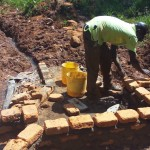 The Water Project: Shitaho Community C -  Construction