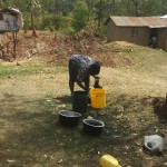 The Water Project: Shikoti Community -  Washing Utensils