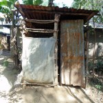 The Water Project: Shiamboko Community, Oluchinji Spring -  Latrine