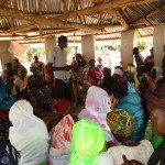 The Water Project: Mayaya Village A -  Community Meeting
