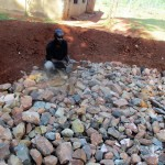 The Water Project : 17-kenya4649-laying-the-foundation