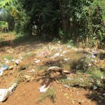 The Water Project: Mukhombe Primary School -  School Garbage
