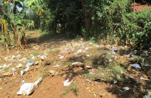The Water Project : 17-kenya4663-school-garbage