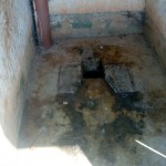 The Water Project: Ematsuli Primary School -  Inside Latrine