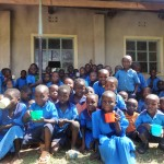 The Water Project: Bumini Primary School -  Students And Their Water Cups