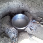 The Water Project: Emusoma Primary School -  Fireplace In Kitchen