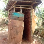 The Water Project: Igogwa Community -  Latrine