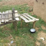 The Water Project: Shikoti Community A -  Dish Rack