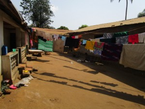 The Water Project : 17-sierraleone5116-clothesline