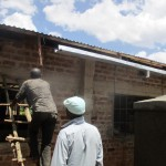 The Water Project: Friends Makuchi Secondary School -  Gutter Installation