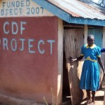 The Water Project: Ematsuli Primary School -  Girls Latrines