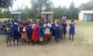 The Water Project : 18-kenya4670-early-education-students-get-lunch