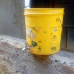 The Water Project: Emukhalari Primary School -  Hand Washing Station