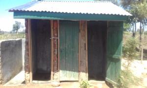 The Water Project : 18-kenya4692-boys-latrines